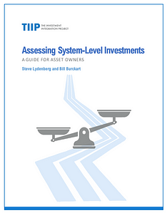Assessing System-Level Investments Report